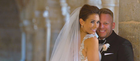 A luxurious wedding filmed in Spain
